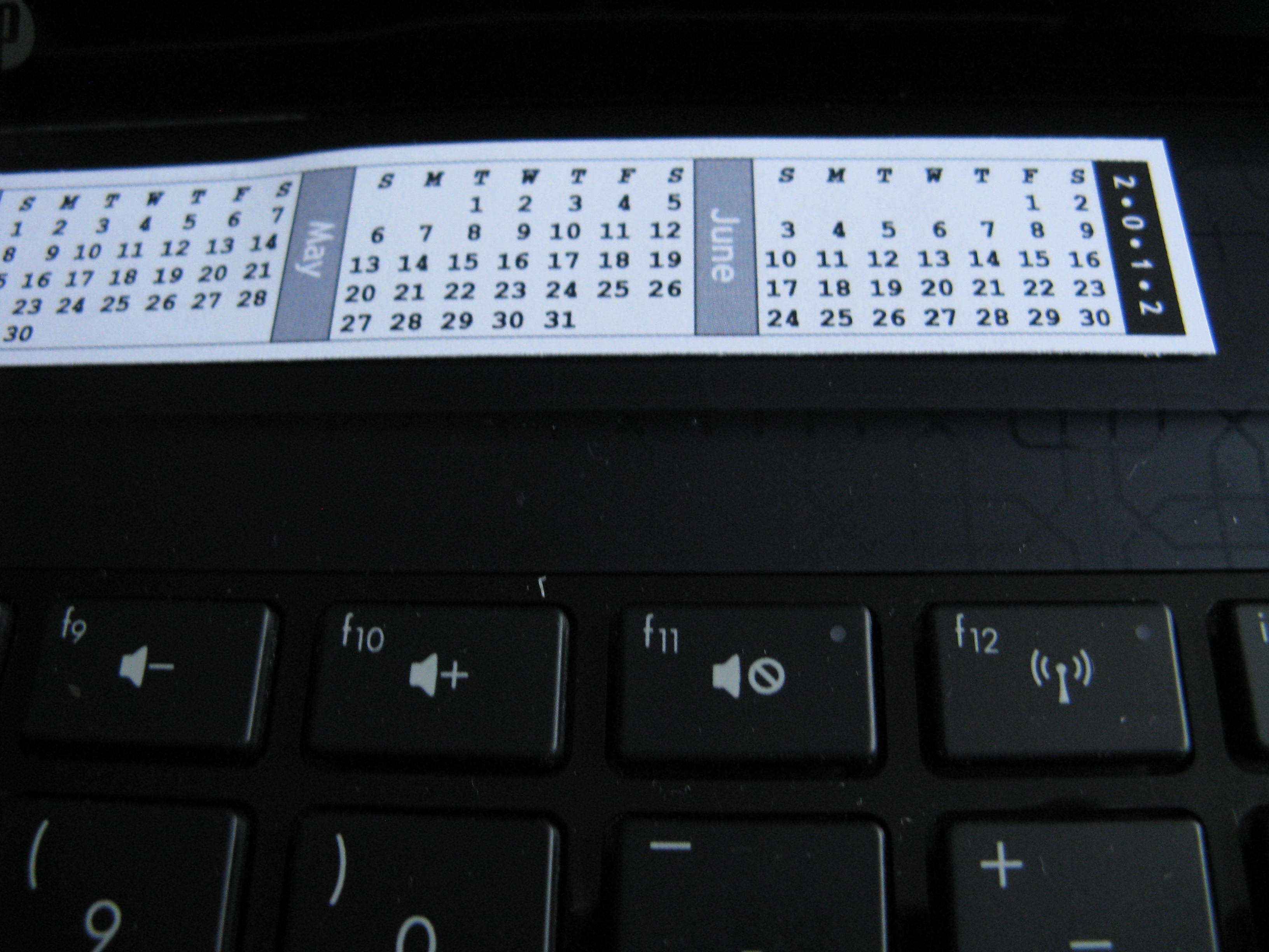 How Often Do You Wish You Had a Calendar Right In Front Of You?