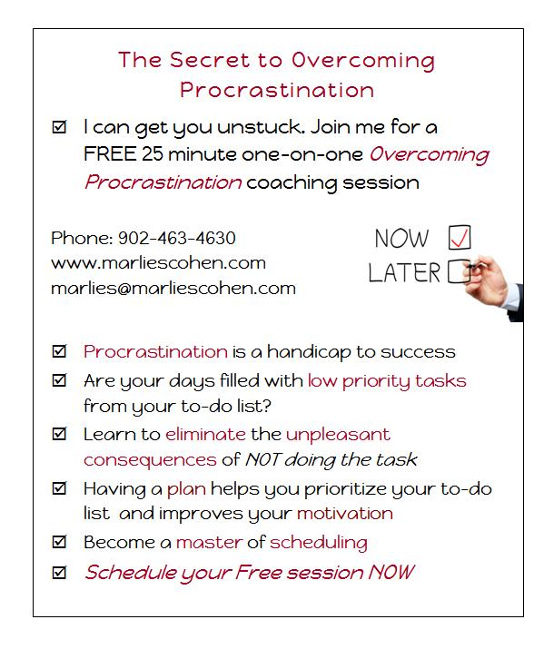 The Secret to Overcoming Procrastination
