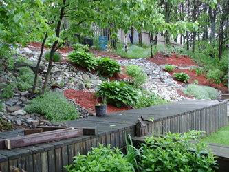garden in 2006