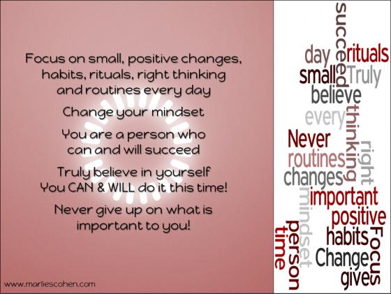Focus – Change Your Mindset
