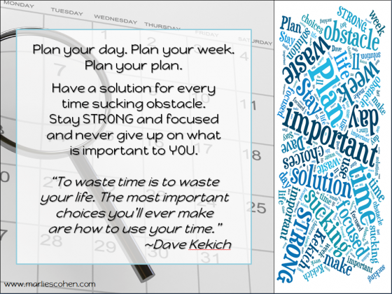 Planning – Have a Solution