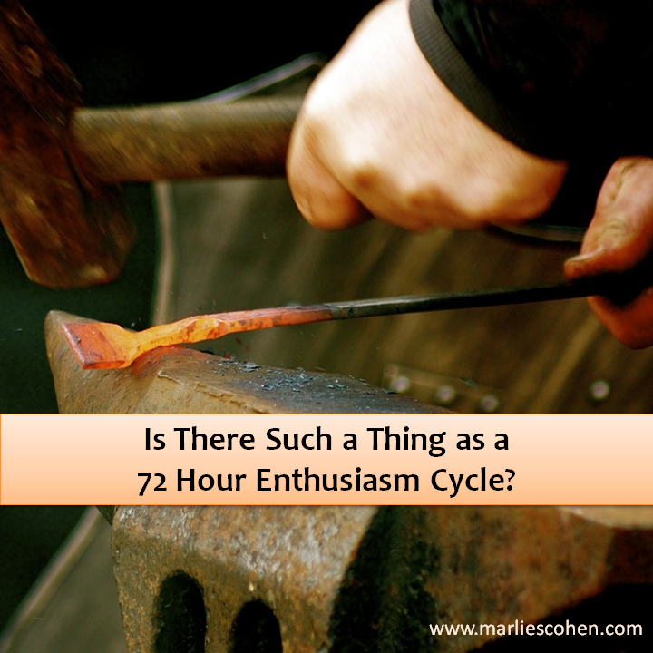 72 hour enthusiasm cycle