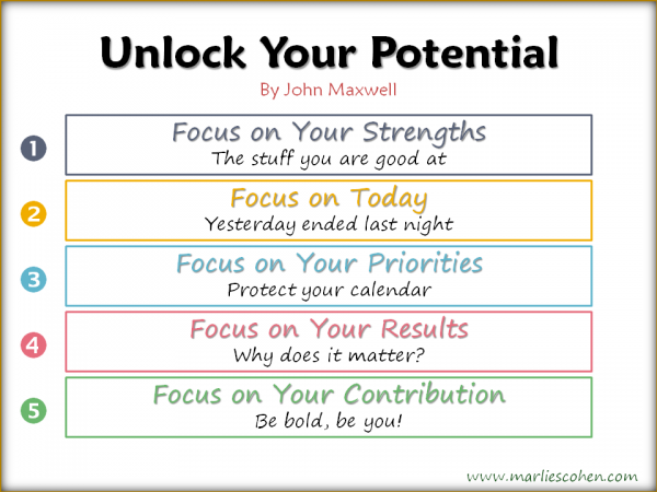5 Tips to Unlock Your Potential