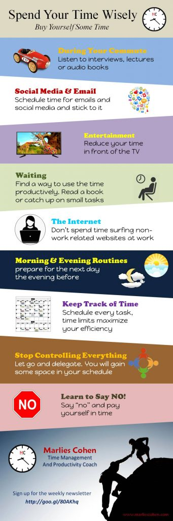 spend your time wisely