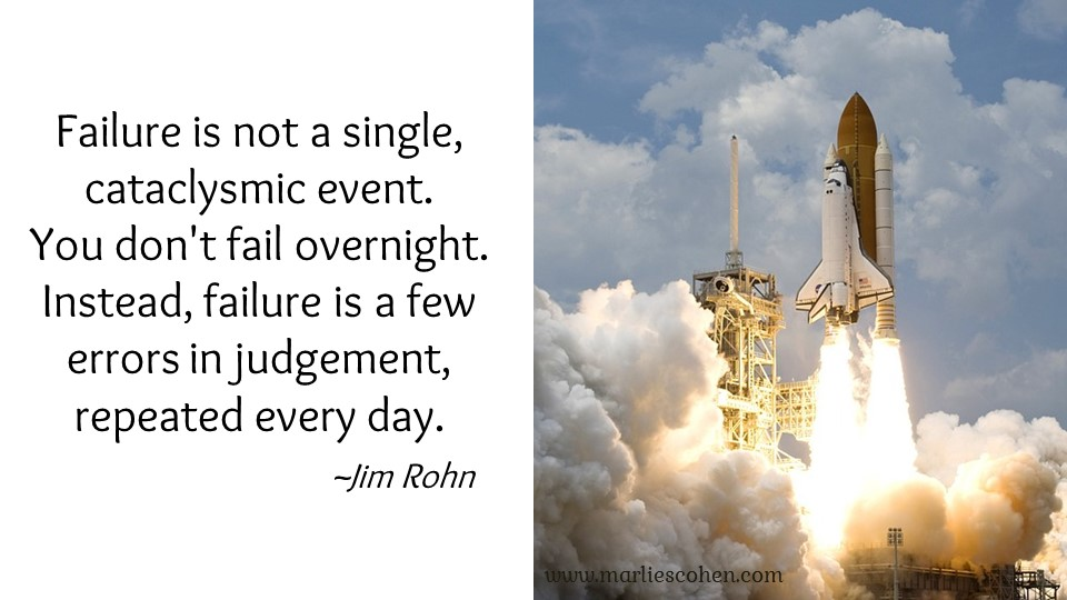 failure is not a single event