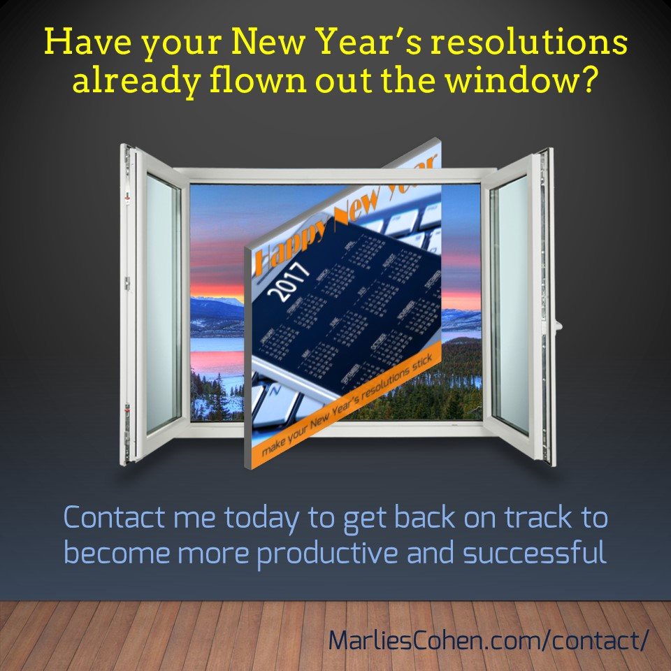resolutions - given up already