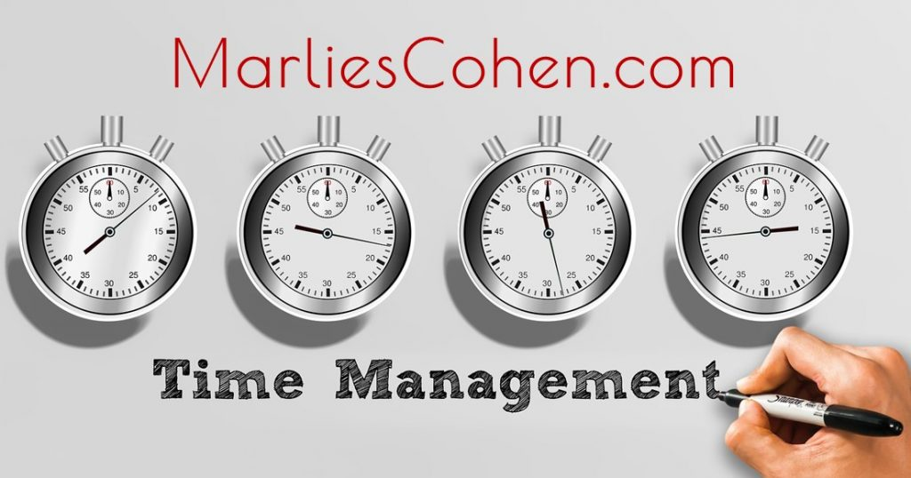 Marlies Cohen Time Management