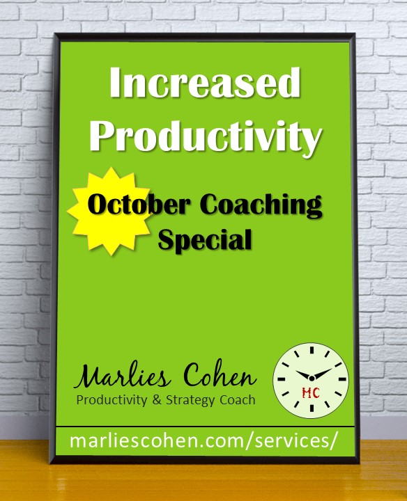 Marlies Cohen - October Coaching Special
