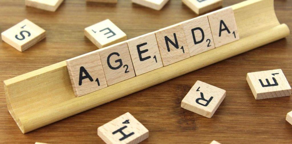 follow your agenda
