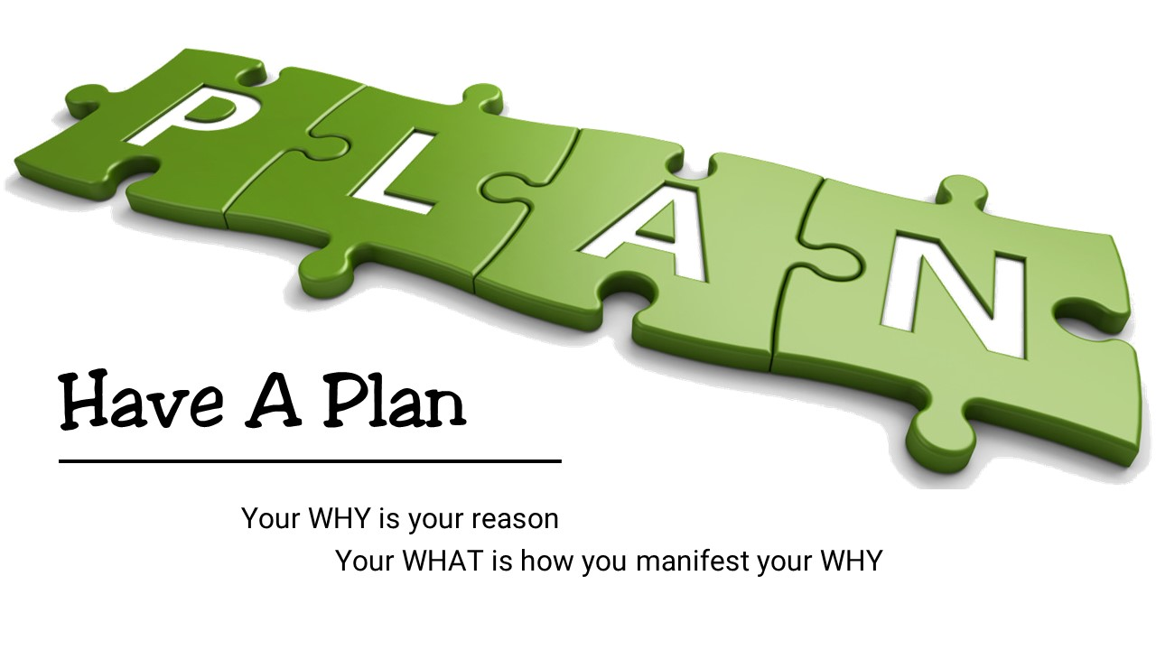 Tip #136 – Have a Plan