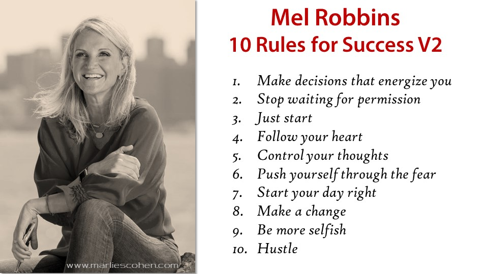 Mel Robbins 10 Rules for Success v2