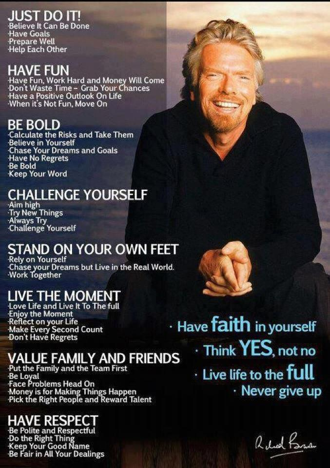 Richard Branson Infographic