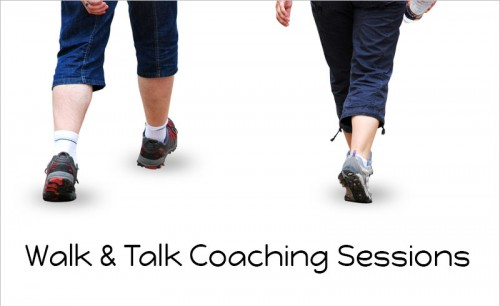 walk & talk coaching sessions