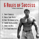 6 Rules of Success by Arnold Schwarzenegger