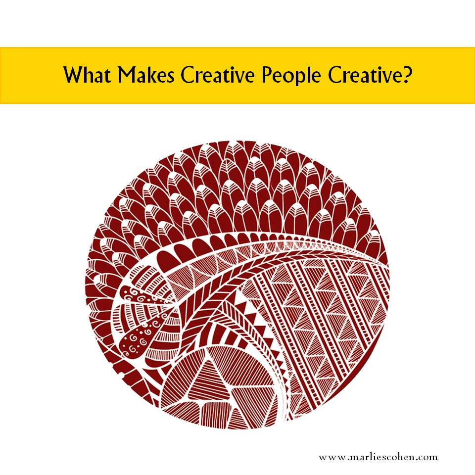 What Makes Creative People Creative?