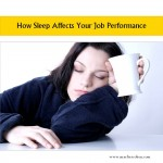 sleep affects your job performance