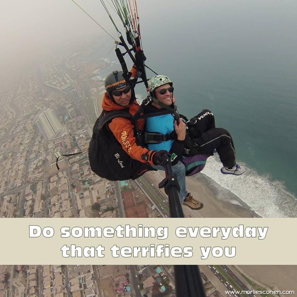 do something everyday ...