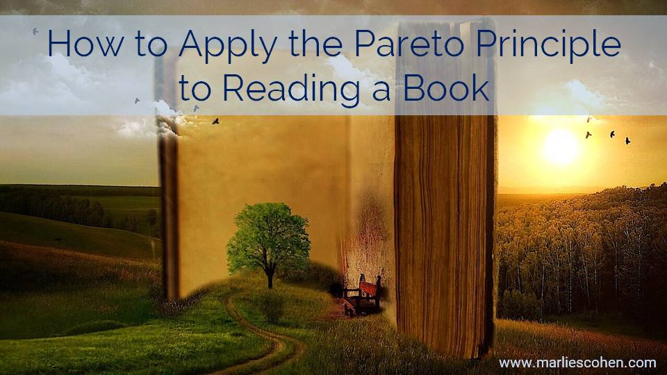 How to Apply the Pareto Principle to Reading a Book