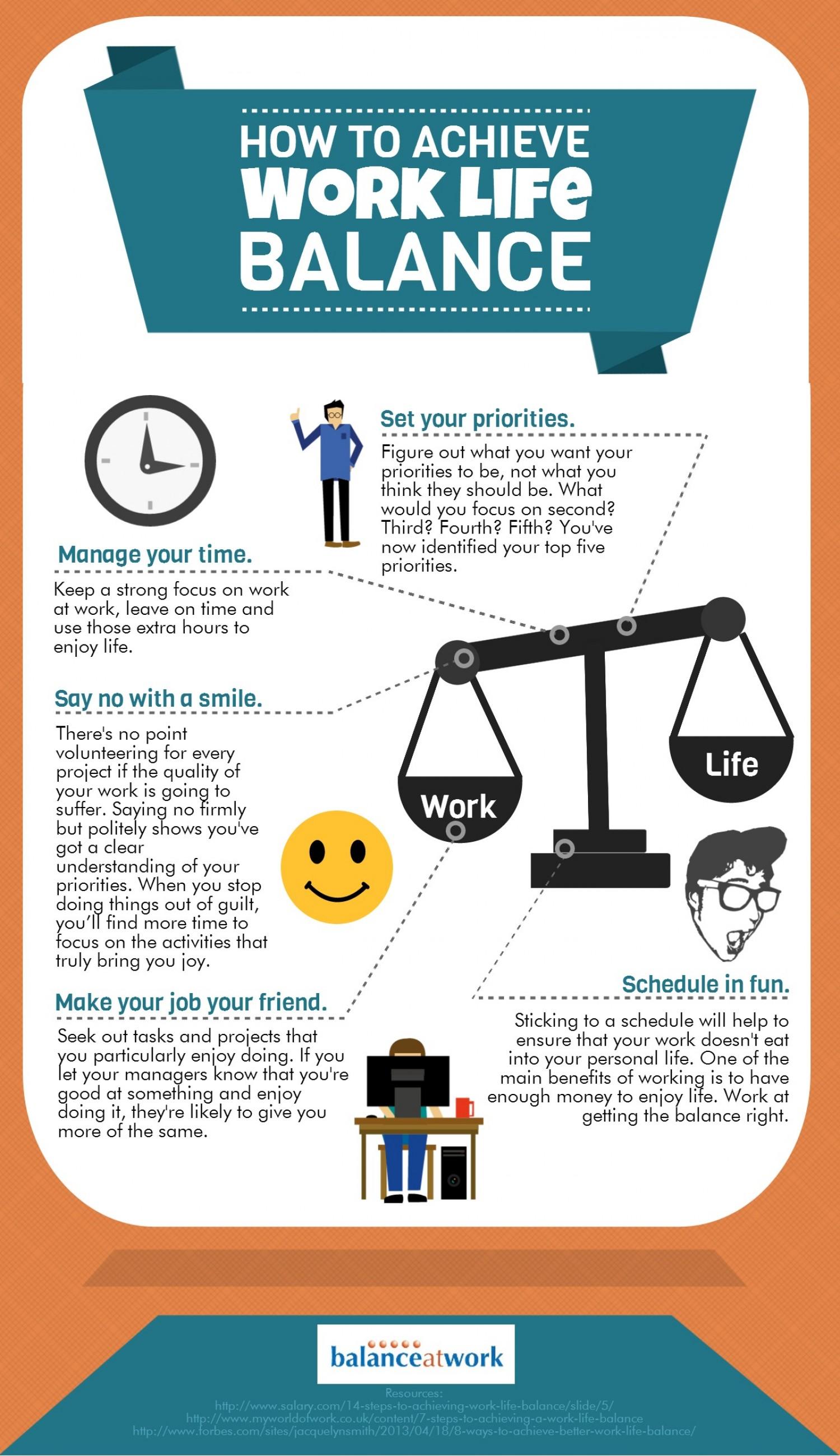 5 Tips To Adjust Your Work Life Balance
