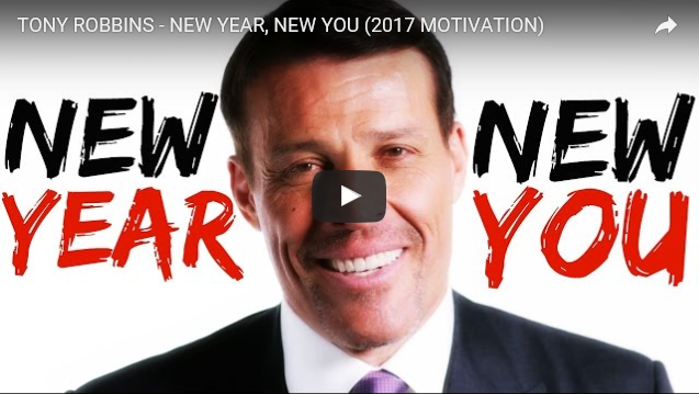 Tony Robbins 2017 motivation