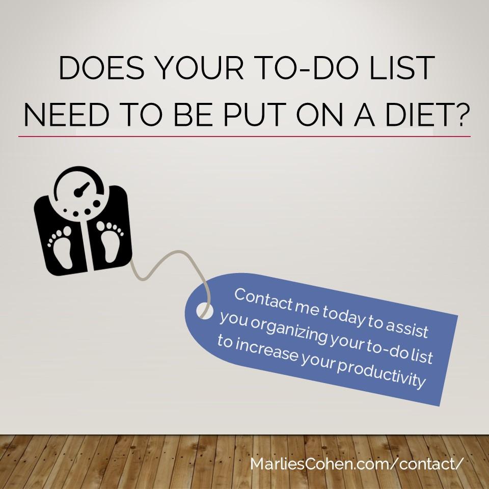 to-do list diet ad
