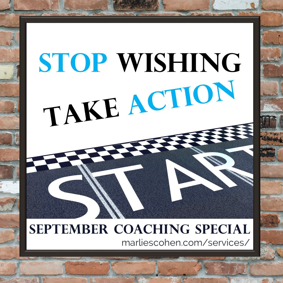 Stop Wishing - Take Action coaching special