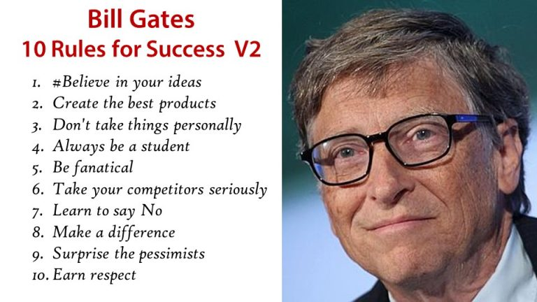 rules of bill gates William henry gates iii, or bill gates, was born in seattle, washington his father was a lawyer and his mother was a businesswoman at a young age, bill showed great interest in computers and programming.