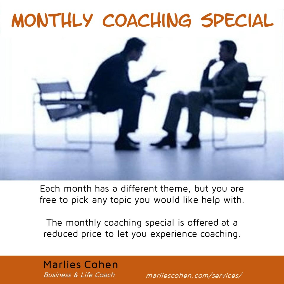 monthly coaching special