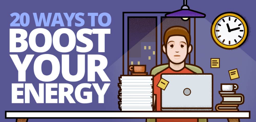 How to Get More Energy at Work