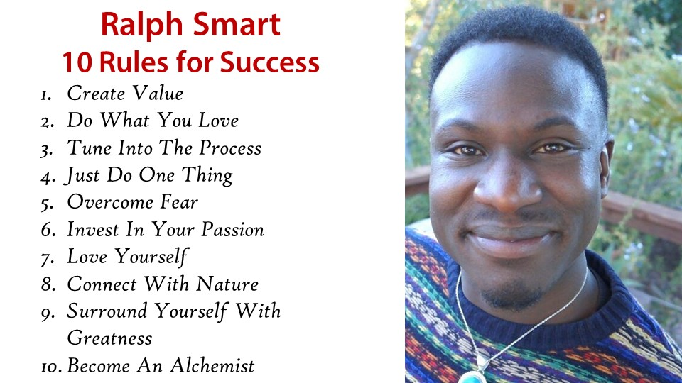 Ralph Smart 10 rules for success