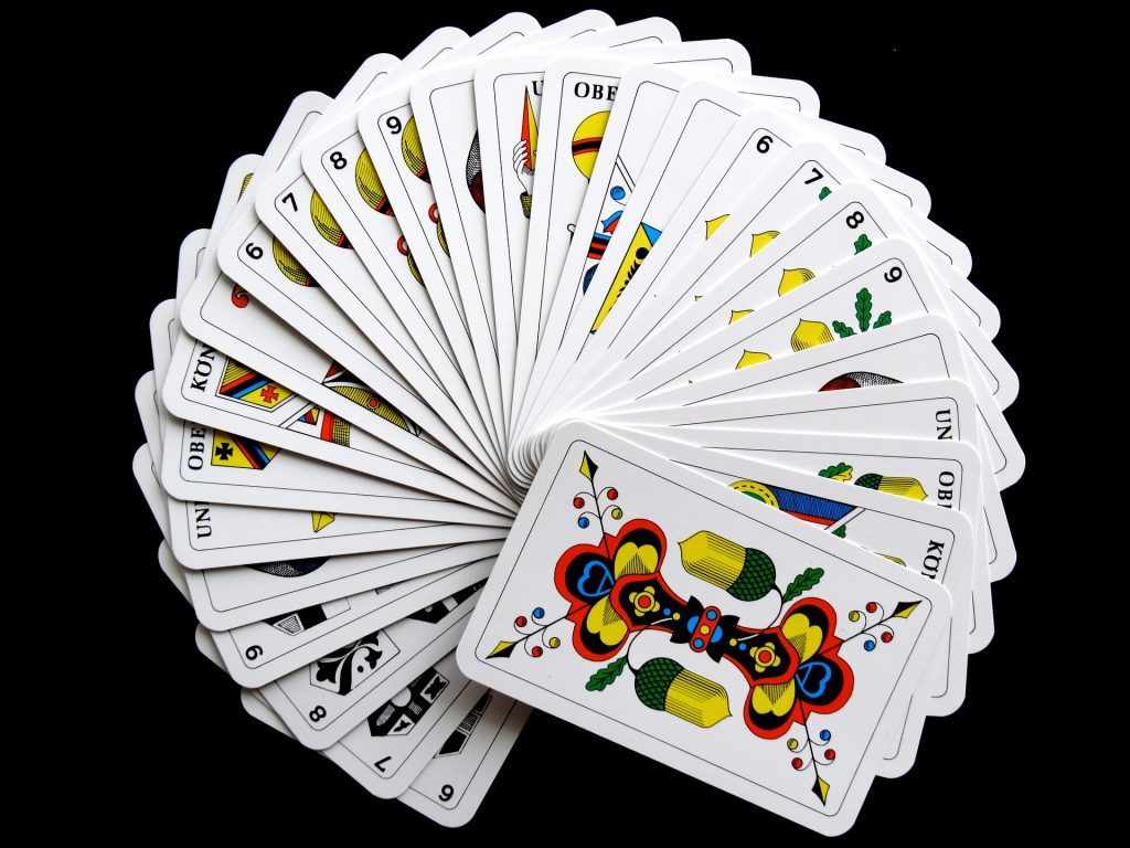 Swiss playing cards - Jass