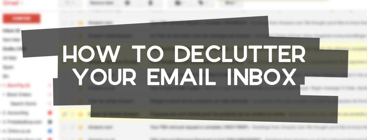 how to declutter your inbox