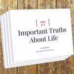 77 Important Truths About Life