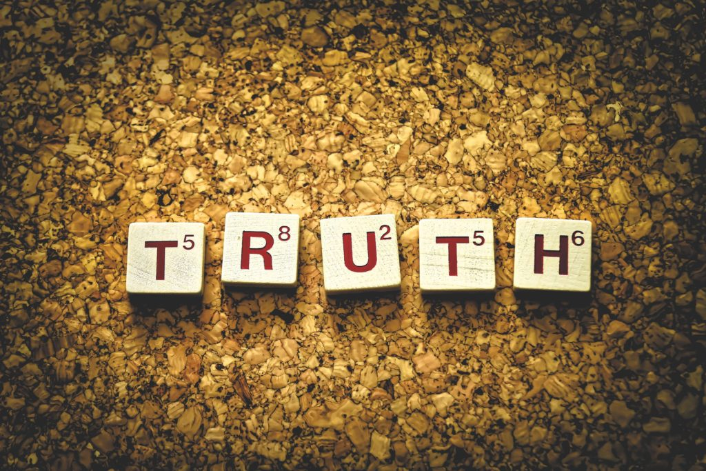 truth is about what is right